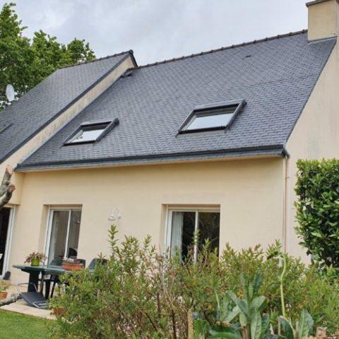 Belle maison indépendante en impasse, sur 460 m2.